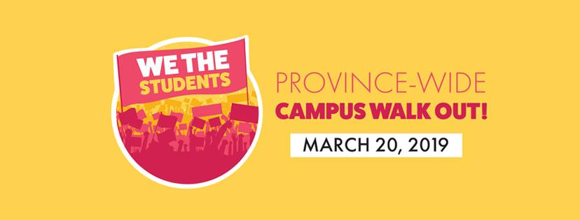 George Brown College (St. James campus) Walkout: March 20th at Noon