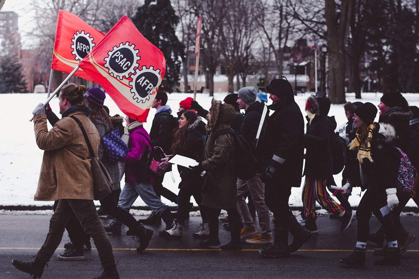 Fanshawe College Walkout: March 20th at Noon
