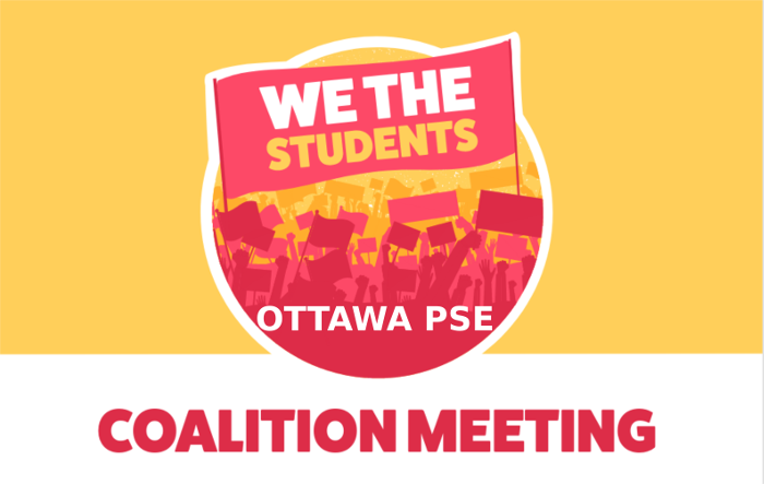 Ottawa PSE Coalition Meeting: March 18th